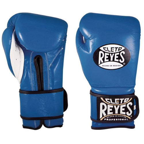 Cleto Reyes Wrap Around Sparring Gloves - Blue